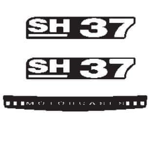 SHAD Samolepky SHAD pro SH37 D1B371ETR