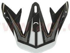 Nox kšilt pro přilby Defender, NOX (černý-zlatý) VISICDEFENDER NOIR