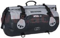 Oxford vodotěsný vak Aqua T-30 Roll Bag, OXFORD (šedý/černý, objem 30 l) OL481