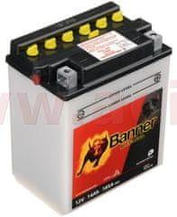 Banner baterie 12V, YB14 l-A2, 14Ah, 185A, BANNER Bike Bull 134x89x166 51411