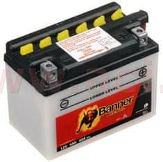 Banner baterie 12V, YB4 l-B, 4Ah, 40A, BANNER Bike Bull 120x70x92 50411