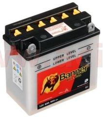 Banner baterie 12V, YB7-A, 8Ah, 90A, BANNER Bike Bull 135(145)x75x133 50713