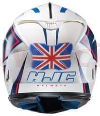 Oxford protektor laku přilby Helmet Bumper Union Jack, OXFORD OX527