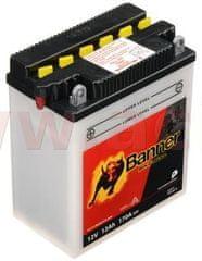 Banner baterie 12V, YB12A-A, 12Ah, 170A, BANNER Bike Bull 134x80x160 51211