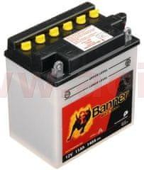 Banner baterie 12V, YB10 l-B, 11Ah, 140A, BANNER Bike Bull 135x90x145 51113