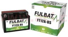 Fulbat baterie 12V, YT12A-BS, 10Ah, 175A, bezúdržbová MF AGM 150x87x105, A-TECH (vč. balení elektrolytu) FULBAT 550602F