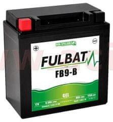 Fulbat baterie 12V, YTX9A-BS, 9,5Ah, 115A, bezúdržbová GEL 135x75x139, FULBAT (aktivovaná ve výrobě) 550925