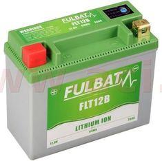 Fulbat lithiová baterie LiFePO4 YT12B-4 FULBAT 12V, 5Ah, 350A, hmotnost 0,82 kg, 150x66x130 560508