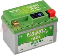 Fulbat lithiová baterie LiFePO4 YTX4L-BS FULBAT 12V, 1,6Ah, 110A, 0,36 kg, 113x70x85 mm nahrazuje typy: (CTZ5S-BS, CBTX4L-BS, CBTX5L-BS) 560502
