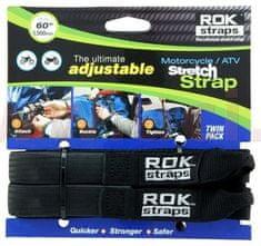 Oxford popruhy ROK straps HD nastavitelné a zesílené, OXFORD (černá, šířka 25 mm, pár) ROK025