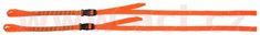 Oxford popruhy ROK straps LD Commuter nastavitelné, OXFORD (reflexní oranžová, šířka 12 mm, pár) ROK331