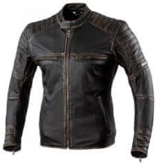 Rebelhorn Moto bunda REBELHORN HUNTER PRO vintage černá kožená (Velikost: XL) 2H307331