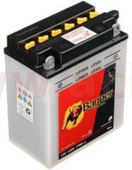 Banner baterie 12V, YB12A-B, 12Ah, 170A, BANNER Bike Bull 134x80x160 51215