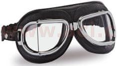 Climax Vintage brýle 513, CLIMAX (černé/chromový rámeček/skla čirá) 513-NP
