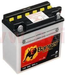 Banner baterie 12V, YB9-B, 9Ah, 90A, BANNER Bike Bull 135x75x139 50914