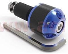 Oxford závaží řídítek Carb Ends 1 s redukcí pro vnitřní průměr 18 mm (vnější 28,6 mm), OXFORD (modré, pár) OX584
