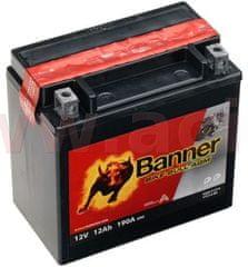 Banner baterie 12V, YTX14-BS, 12Ah, 190A, BANNER Bike Bull AGM 150x87x147 51214
