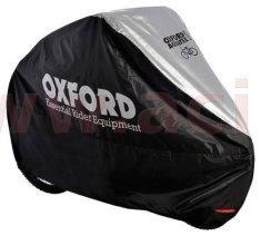 Oxford plachta na kolo Aquatex, OXFORD - Anglie (černá/stříbrná) CC100