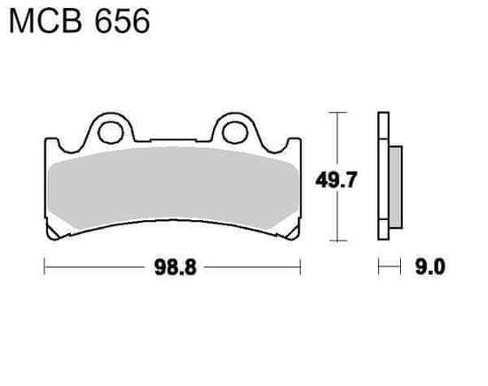 Lucas Brzdové destičky LUCAS SV 787.34.25
