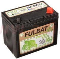 Fulbat baterie 12V, U1R-9 SLA, 28Ah, 300A, pravá, bezúdržbová MF AGM, 195x125x176, FULBAT (aktivovaná ve výrobě) 550902