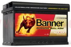 Banner 70Ah baterie, 720A, pravá BANNER Running Bull AGM 278x175x190 AGM57001