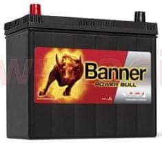 Banner 45Ah baterie, 390A, levá, úzké póly BANNER Power Bull 238x129x203(225) P4524