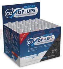 Oxford náhradní bombičky CO2 pro opravné sady pneu, OXFORD (obchodní balení sada 30 ks) OX162