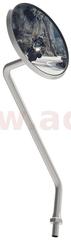 Oxford zpětné zrcátko Deluxe univerzální, OXFORD (závit pravostranný M10, stoupání 1,25, chrom) L OX569