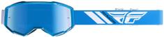Fly Racing brýle ZONE 2019, FLY RACING (modré, modré chrom plexi) 37-5145