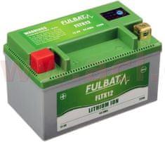 Fulbat lithiová baterie LiFePO4 YTX12-BS FULBAT 12V, 3,5Ah, 250A, hmotnost 0,65 kg, 150x87x93 560509