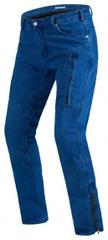 Rebelhorn Moto kalhoty REBELHORN HAWK II JEANS classic modré (Velikost: 36) 2H056835