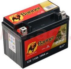 Banner baterie gelová 12V, GTZ14-4, 11Ah, 190A, BANNER Bike Bull GEL 151x87x110 GEL 512 01