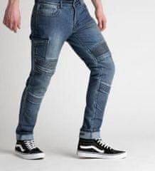 Rebelhorn Moto kalhoty BROGER OHIO jeans washed blue (Velikost: 36) 2H940189