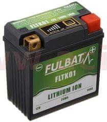 Fulbat lithiová baterie LiFePO4 YT9B-BS FULBAT 12V, 2Ah, 120A, 92x52x90 (pro motocykly KTM, YTX5L-BS/YTX4L-BS) 560501