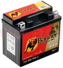 Banner baterie gelová 12V, GT7-3, 6Ah, 95A, BANNER Bike Bull GEL 114x71x106 GEL 506 21
