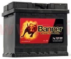 Banner 45Ah baterie, 400A, pravá BANNER Starting Bull 210x175x190 54559