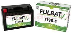 Fulbat baterie 12V, YT9B-BS, 8Ah, 115A, bezúdržbová MF AGM 150x70x105, FULBAT (vč. balení elektrolytu) 550627