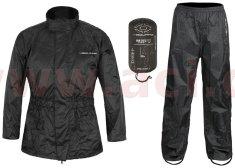 Nox bunda a kalhoty LOW, NOX/4SQUARE (černá, reflexní prvky) (Velikost: 3XL) ENSNLOW