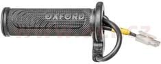 Oxford náhradní rukojeť levá pro vyhřívané gripy Hotgrips Premium Sports, OXFORD OF696C6