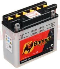 Banner baterie 12V, 12N5,5-3B, 6Ah, 60A, BANNER Bike Bull 135x60x130 50611