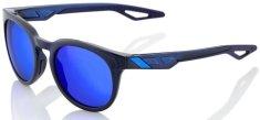 100% sluneční brýle CAMPO Polished Translucent Blue, 100% (zabarvená modré skla) 61026-031-42