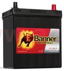 Banner 40Ah baterie, 330A, pravá, úzké póly BANNER Power Bull 187x127x204(226) P4026