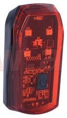 Oxford světlo na kolo zadní BRIGHT STOP, OXFORD (LED) LD423