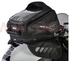 Oxford tankbag na motocykl M30R, OXFORD (černý, s magnetickou základnou, objem 30 l) OL245