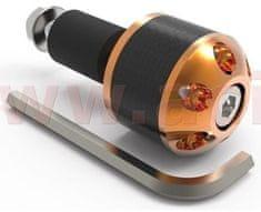 Oxford závaží řídítek Carb Ends 1 s redukcí pro vnitřní průměr 18 mm (vnější 28,6 mm), OXFORD (zlaté, pár) OX585