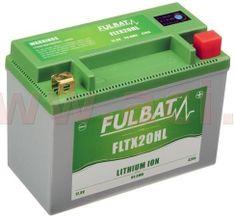Fulbat lithiová baterie LiFePO4 FULBAT 12V, 7Ah, 420A, 1,12 kg, 175x87x130 mm nahrazuje typy: (CBTX20-BS,CB16-B,CB18-A,C50-N18A-A) 560513