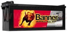 Banner 145Ah baterie, 800A, levá BANNER Buffalo Bull SHD Professional 514x189x195(220) SHD P64503