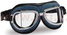 Climax Vintage brýle 513, CLIMAX (modré/chromový rámeček/čirá skla) 513