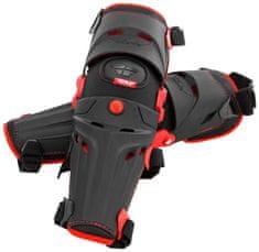 Fly Racing chrániče kolen 5 Pivot, FLY RACING (černá/červená, pár) 28-3100