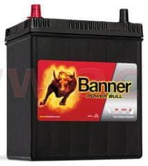 Banner 40Ah baterie, 330A, levá, úzké póly BANNER Power Bull 187x127x204(226) P4027
